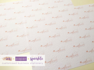Photo Backdrop Cards