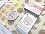 Circular Logo Swing Tags