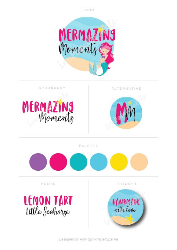 Branding Package - Mermazing Moments