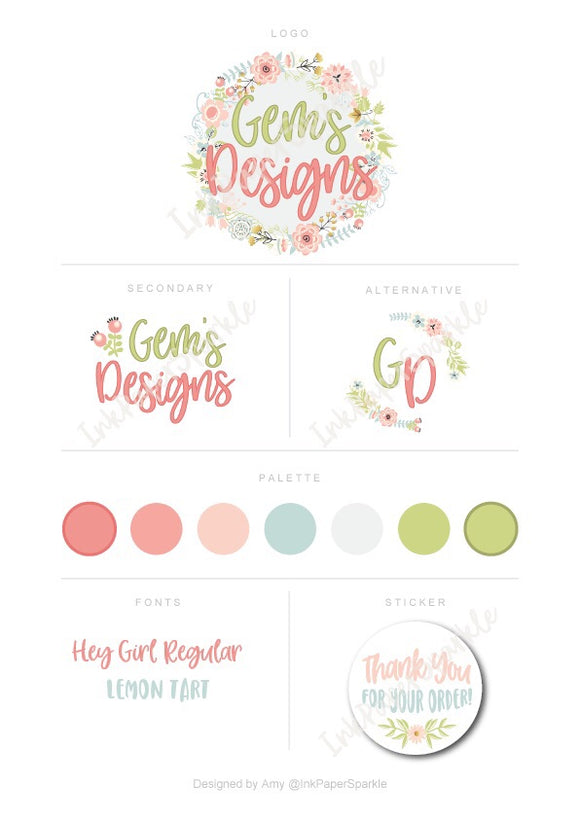 Branding Packages - Gems Designs