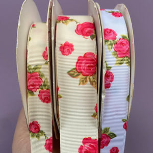 Clearance Ribbon - Rose Grosgrain
