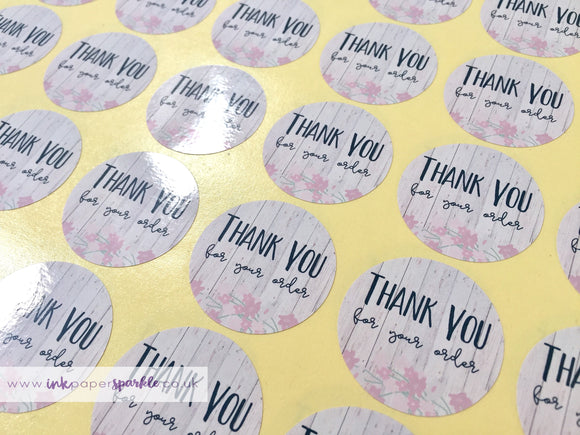 Custom Thank You/Happy Mail Stickers