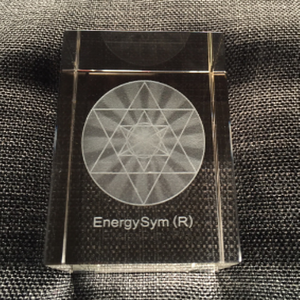 EnergySym© Shield Crystal Cube