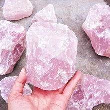 Load image into Gallery viewer, Natural Pink Quartz Crystal Healing Stone