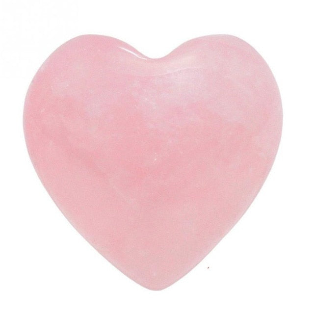 Heart Shape Smooth Healing Chakra Stone