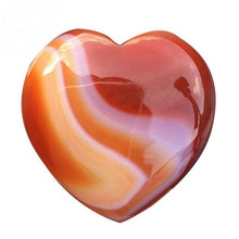 Load image into Gallery viewer, Heart Shape Smooth Healing Chakra Stone