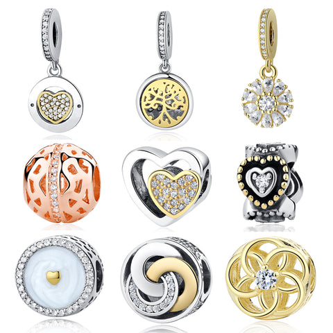 Sterling Silver Designer Charms