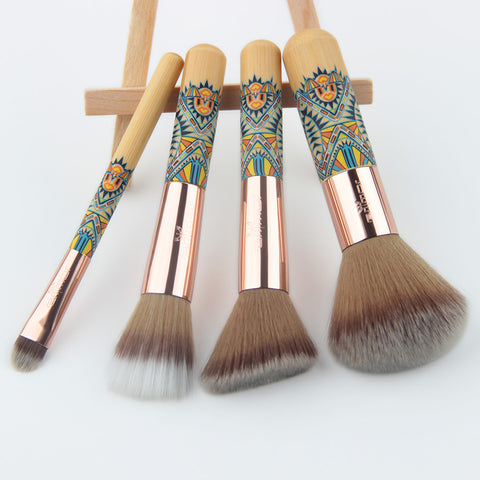 HopiDance™ Native Design Makeup Brush Set