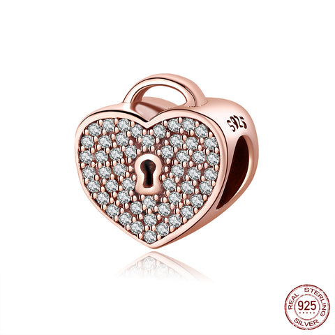 Rose Gold Locket Charm
