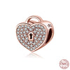 Image of Rose Gold Locket Charm