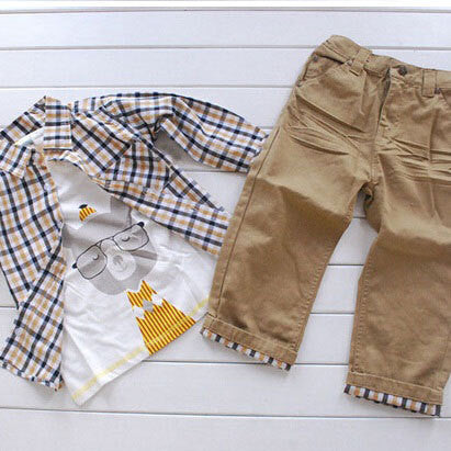 European Style 3 Piece Boys Set