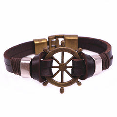 ***FREE*** Nautilus™ Leather Bracelet