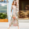 Image of Boho Vintage Embroidered Dress