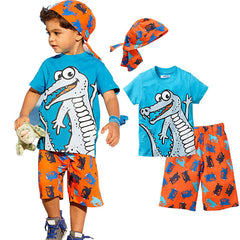 Fun Print Boys Wear (3 piece set)