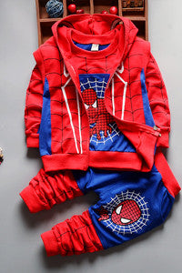 Spiderman Clothing (3 Piece Set)