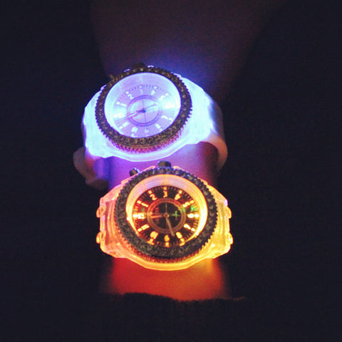 Glow In The Dark Sports Watch