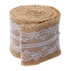 Image of Lace Burlap Garland
