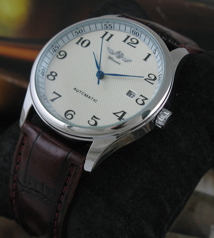 Mechanical Leather Watch