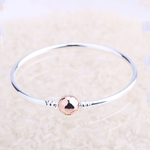 Rose Gold Clasp Bangle