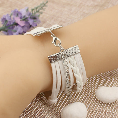 ***FREE*** Crystal Cross Bracelet (5in1)