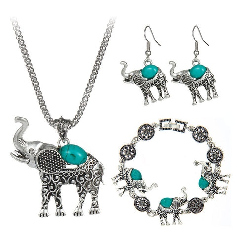 *55% Off* BohoVin™ Necklace, Bracelet, Earrings Set