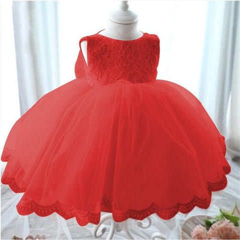 Lace & Tulle Princess Party Dress