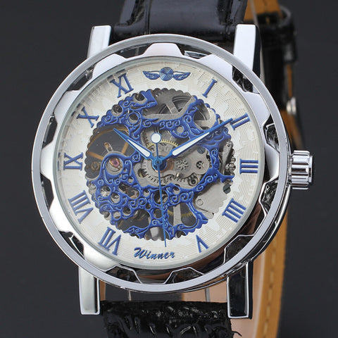Luxury Automatic Skeleton Watch