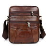 Image of Leather Messenger Bag