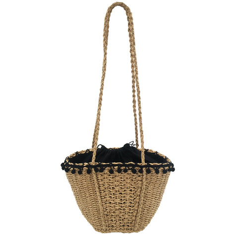 BohoVin™ Natural Straw Basket