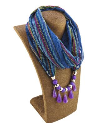 **50%** OFF Droplet Pendant Scarf