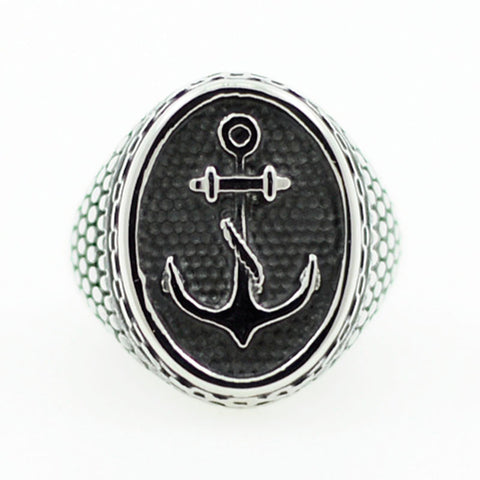 Snake Scale Anchor Ring