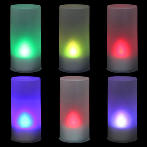 LED 7 Color Candle