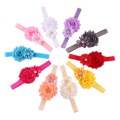 Baby Flower Headbands (10 piece)