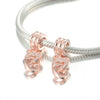 Image of Rose Gold Linked Hearts