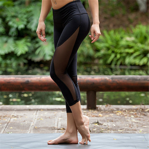 Capri Cutout Yoga Pants