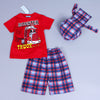 Image of Fun Print Boys Wear (3 piece set)
