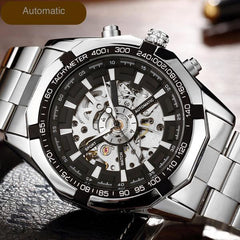 Mechanical Skeleton Dial Watch