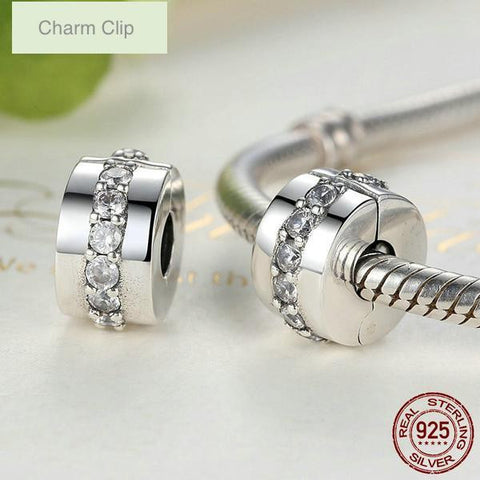 Sterling Silver Clip Charm