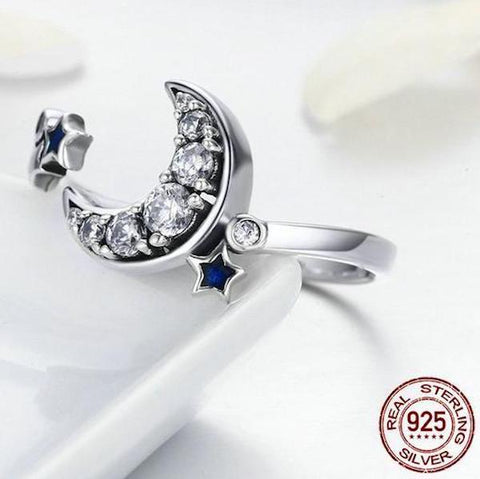 Over The Moon™ Crescent Ring