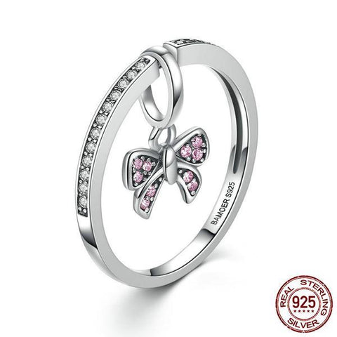 2 in 1 Bow Ring & Pendant