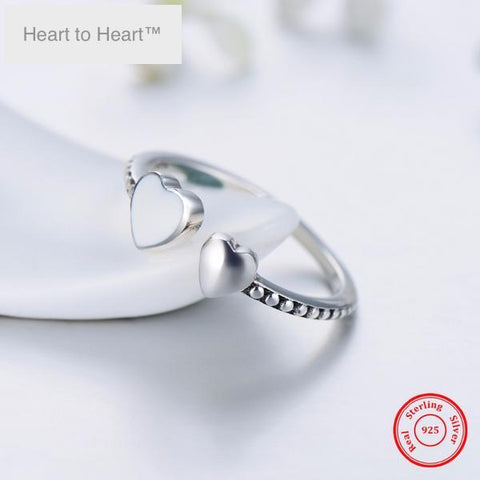 Heart to Heart™ Sterling Silver Ring