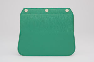 Convertible Handbag Flap - Emerald
