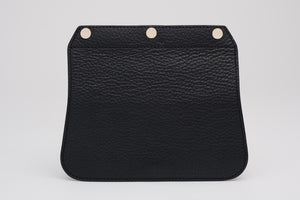 Convertible Handbag Flap - Black