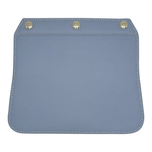 Convertible Handbag Flap - Blue Grey