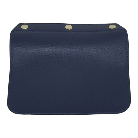 Convertible Handbag Flap - Navy Blue