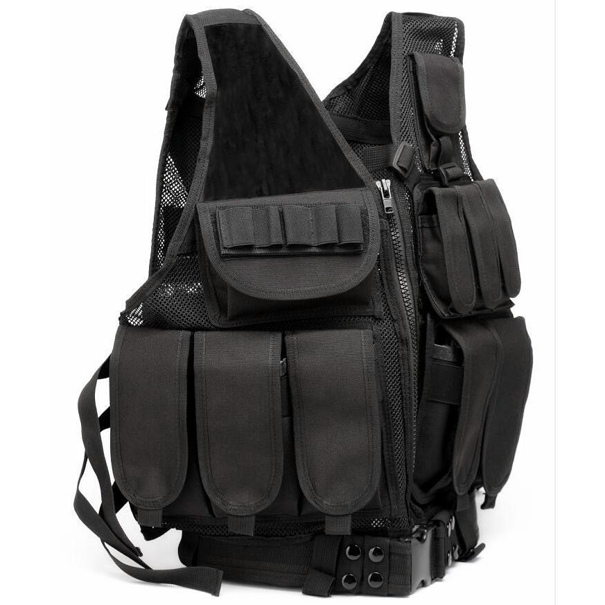 Combat Tactical Vest - Multi Compartment Molle