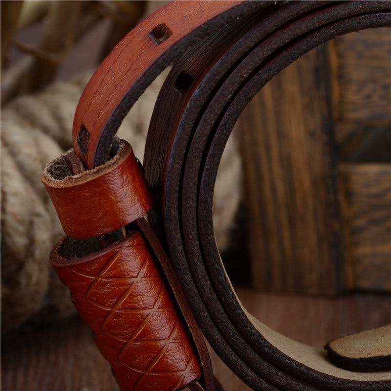 Cow Leather Buckle Belt