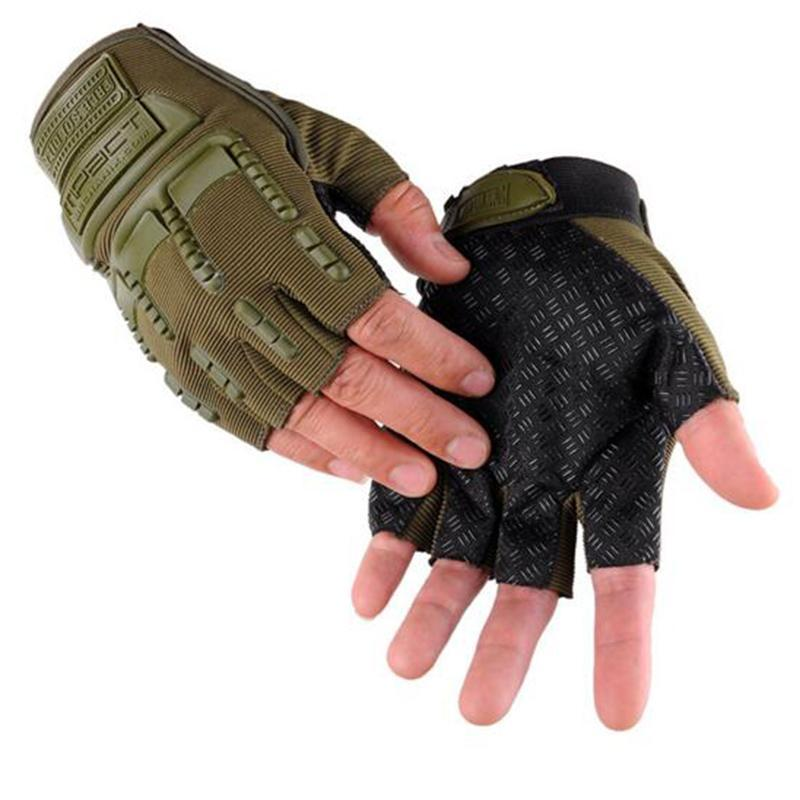Fingerless Tactical Gloves