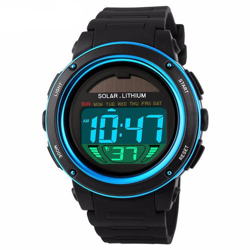 Solar Lithium Tactical Watch