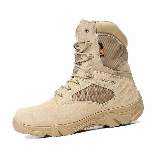 Men's Desert Camouflage Military Boots